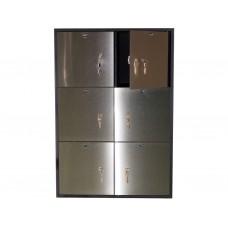 DB-6S Блок депозитных ячеек  (Нержавеющая сталь)